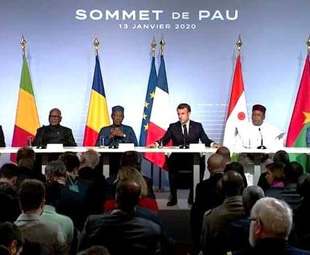 sommet de pau présence militaire clarification